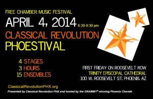 2014 Phoestival Flyer